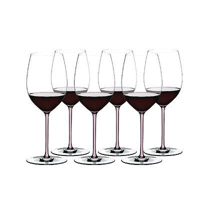 Fatto A Mano Gift Set Cabernet/Merlot (Set of 6 pcs) Pink