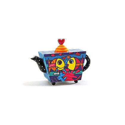 Britto Mini Teapot - Deeply in Love