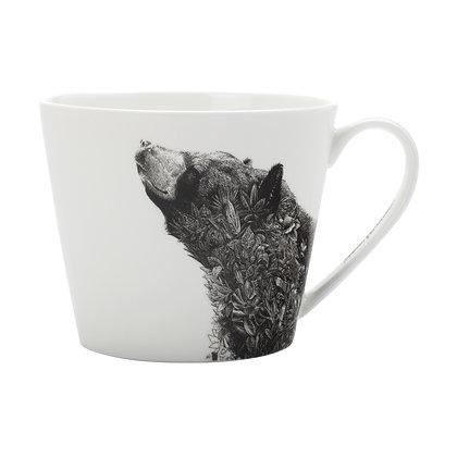 Maxwell & Williams Marini Ferlazzo Mug - Asiatic Black Bear 450ML Sqt