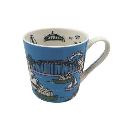 Maxwell & Williams Megan McKean Cities Mug 430ML Sydney Gift Boxed
