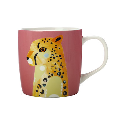Maxwell & Williams Pete Cromer Wildlife Mug 375ML Cheetah Gift Boxed