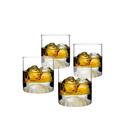 Nude Club Ice Whisky Glass Set of 4 glasses