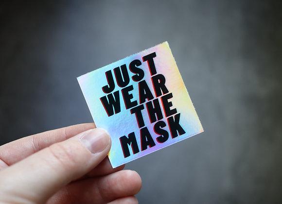 Pro-Mask Holographic sticker