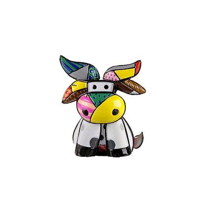 Britto Mini 'Brazil' Cow Figurine