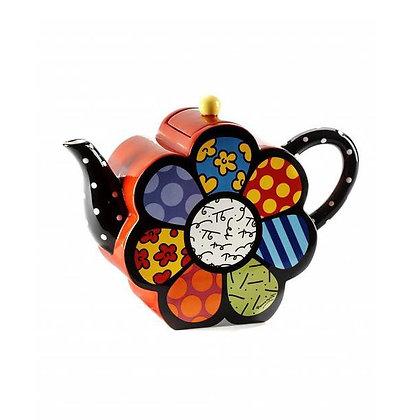 Britto Teapot Large Flower, 60oz