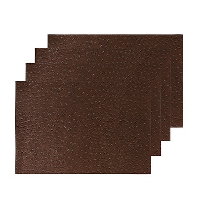 Maxwell & Williams Placemat Ostrich 43x30cm Brown Set of 4