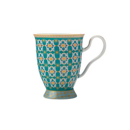 Maxwell & Williams  Teas & C's Kasbah Footed Mug 300ML Mint