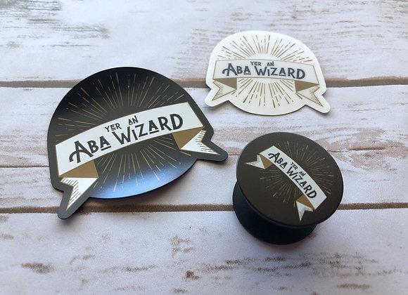 ABA Wizard Fan Bundle - set of 3 items