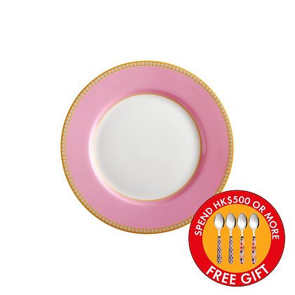 Maxwell & Williams Teas & C's Kasbah Classic Rim Plate 19.5cm Hot Pink