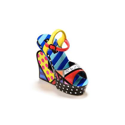 Britto Miniature Shoe Figurine - Sandal