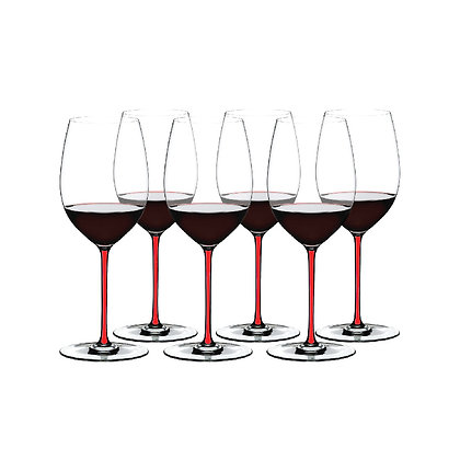 Fatto A Mano Gift Set Cabernet/Merlot (Set of 6 pcs) Red