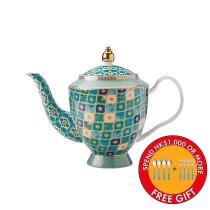 Maxwell & Williams Teas & C's Kasbah Teapot with Infuser 1L Mint