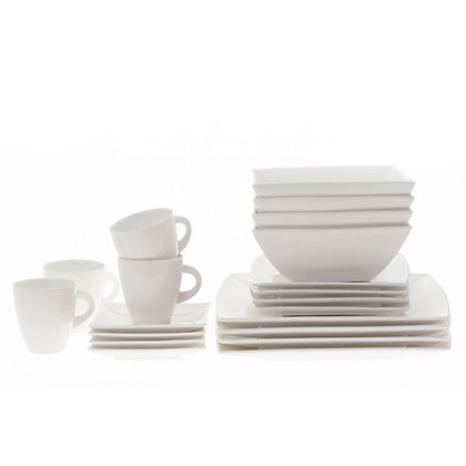Maxwell & Williams White Basics Dinner Set 20 Pieces Gift Boxed