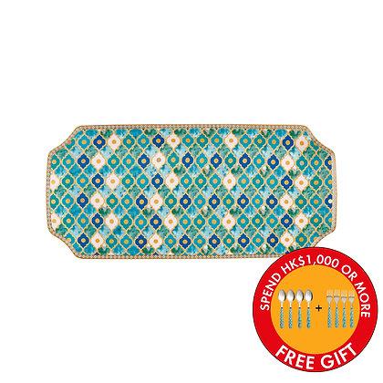 Maxwell & Williams Teas & C's Kasbah Rectangle Platter 33x15.5cm Mint