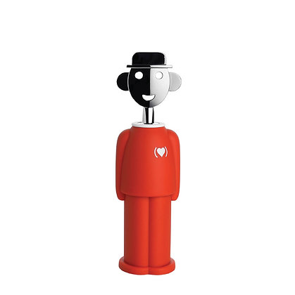 Alessi Alessandro M. Corkscrew (Special Edition RED)