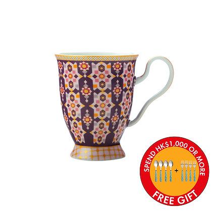 Maxwell & Williams Teas & C's Kasbah Footed Mug 300ML Rose