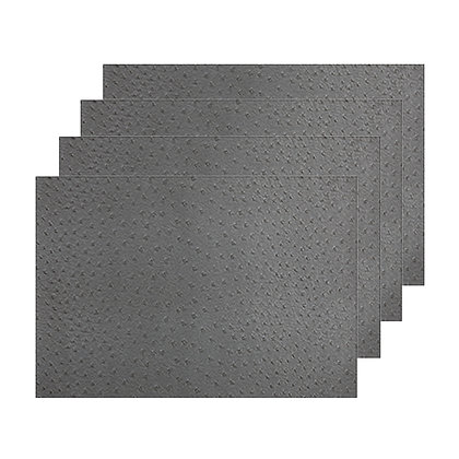 Maxwell & Williams Placemat Ostrich 43x30cm Grey Set of 4