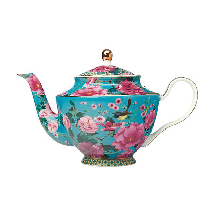 Maxwell & Williams Teas & C's Silk Road Teapot with Infuser 1L Aqua