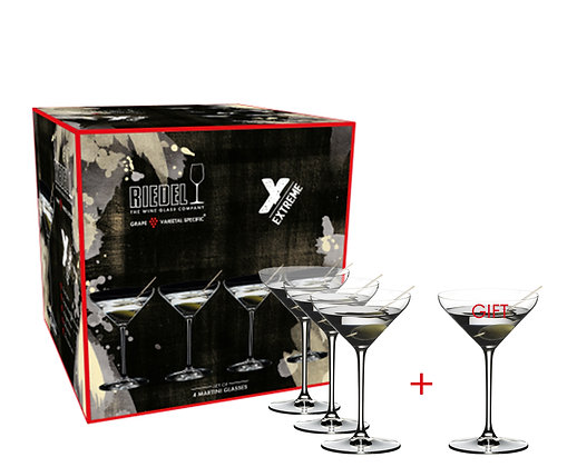 Riedel Extreme Martini Pay 3 Get 4