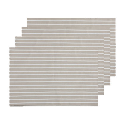 Maxwell & Williams Placemat Sailor 45x30cm Taupe Set of 4