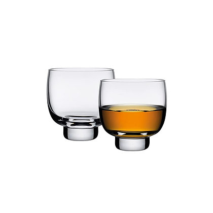 Nude Malt Whisky Glasses Set of 2 (Clear)