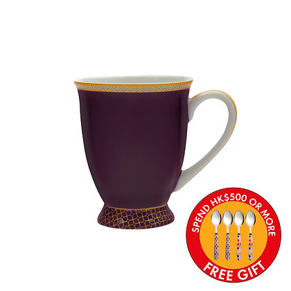 Maxwell & Williams Teas & C's Kasbah Classic Footed Mug 300ML Violet