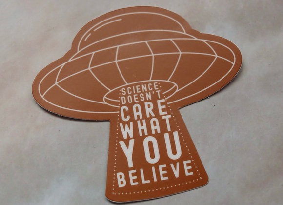 UFO Science Sticker