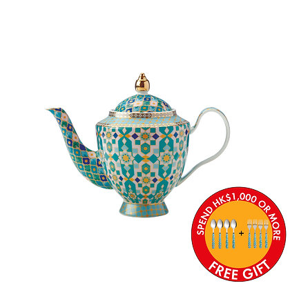 Maxwell & Williams Teas & C's Kasbah Teapot with Infuser 500ML Mint