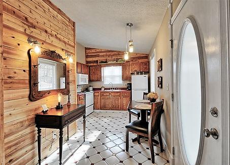 Cabin Entry & Kitchen