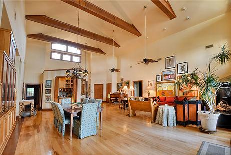 Lake Home Living Room