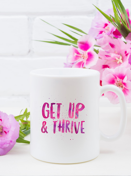 Get Up & Thrive with A Pop of Pink