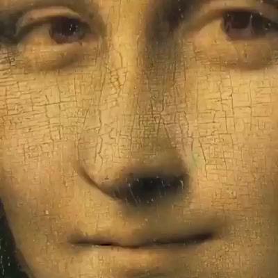 Les YEUX dans les YEUX...de Mona