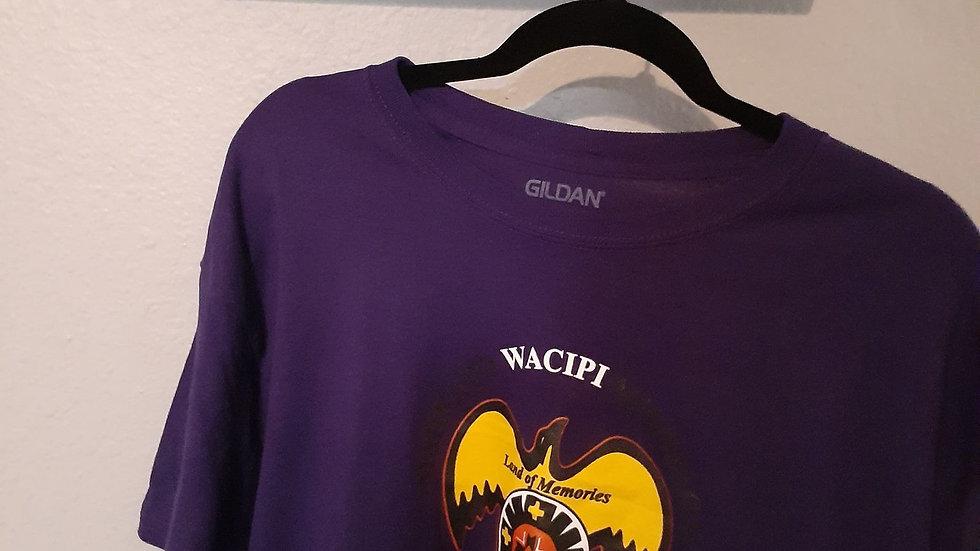 Children's T-shirt Button Logo Design