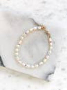Freshwater Pearl Multi-colored Ankle Bracelet