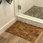 """Teak & Rosewood Indoor/Outdoor Bath & Shower Mat (28 x 20"""")"""