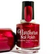 Thimbleberry Jam: Nail Polish Ruby Red