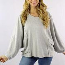 Loose Fit Sweater Top