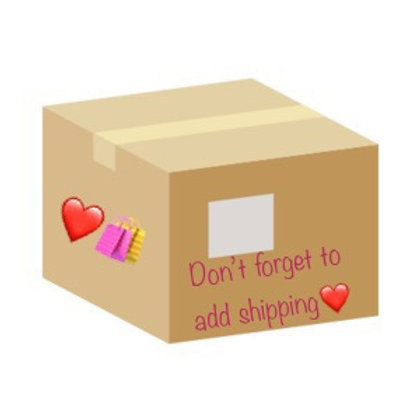 Shipping if not local pick up