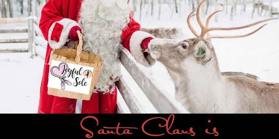 Make way for Santa's Sleigh!