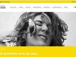 DE PROFESIÓN AMA DE CASA.