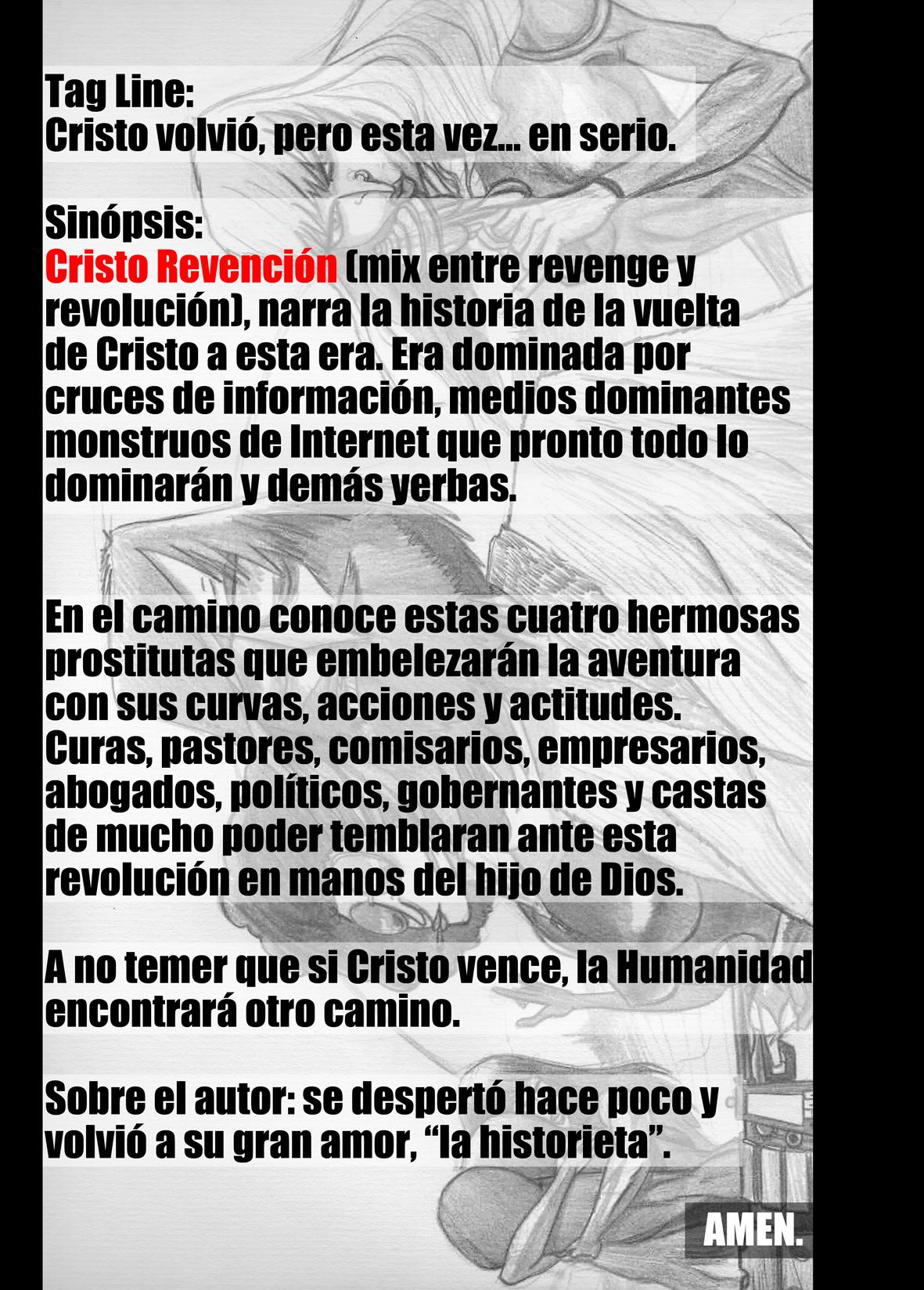 CRISTO REVENCION_sinopsis