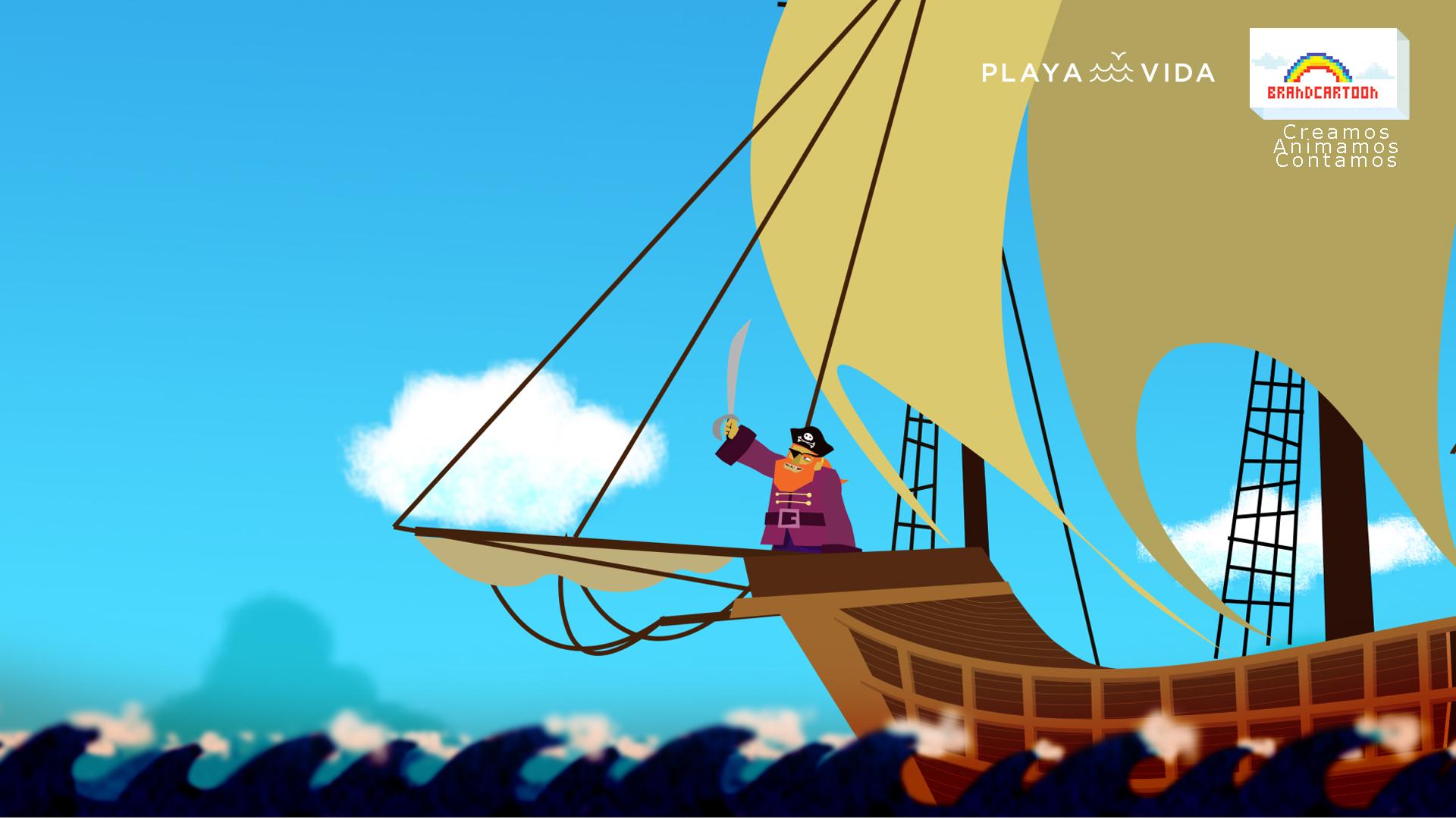 Pirata al ataque