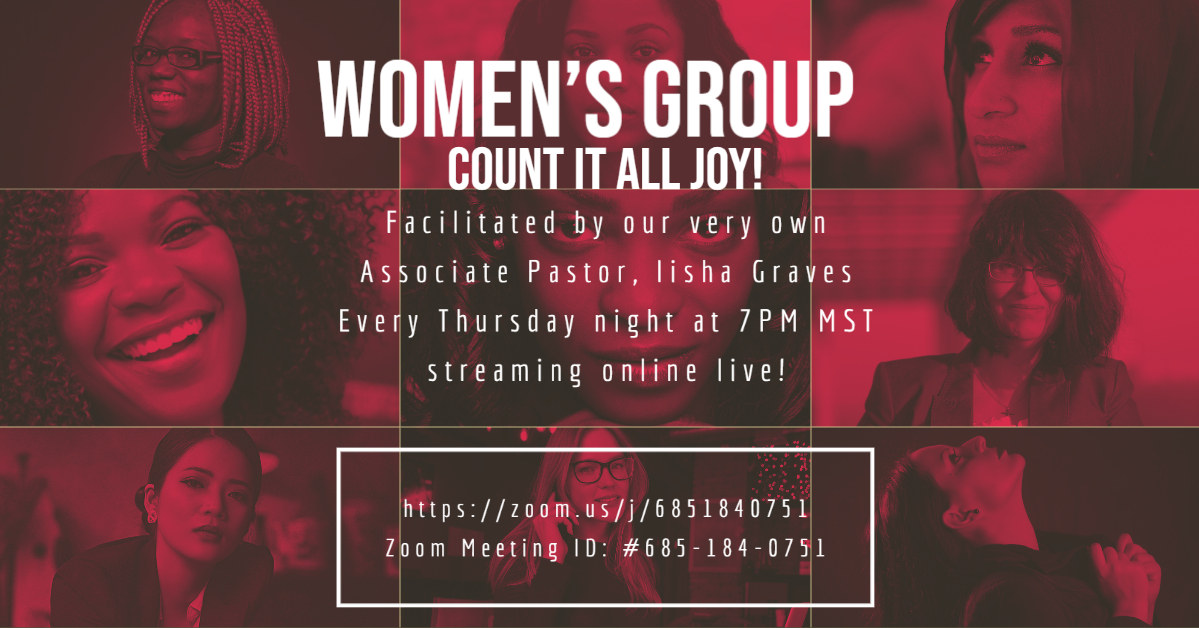 Count It All Joy! Women's Group
