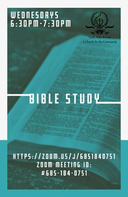 Zoom Wed Bible Study