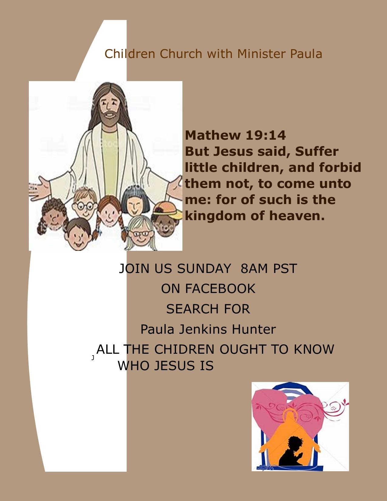 FHLCC Children's Bible Study