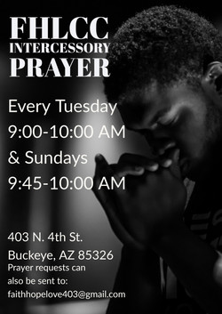 FHL Prayer Mtg