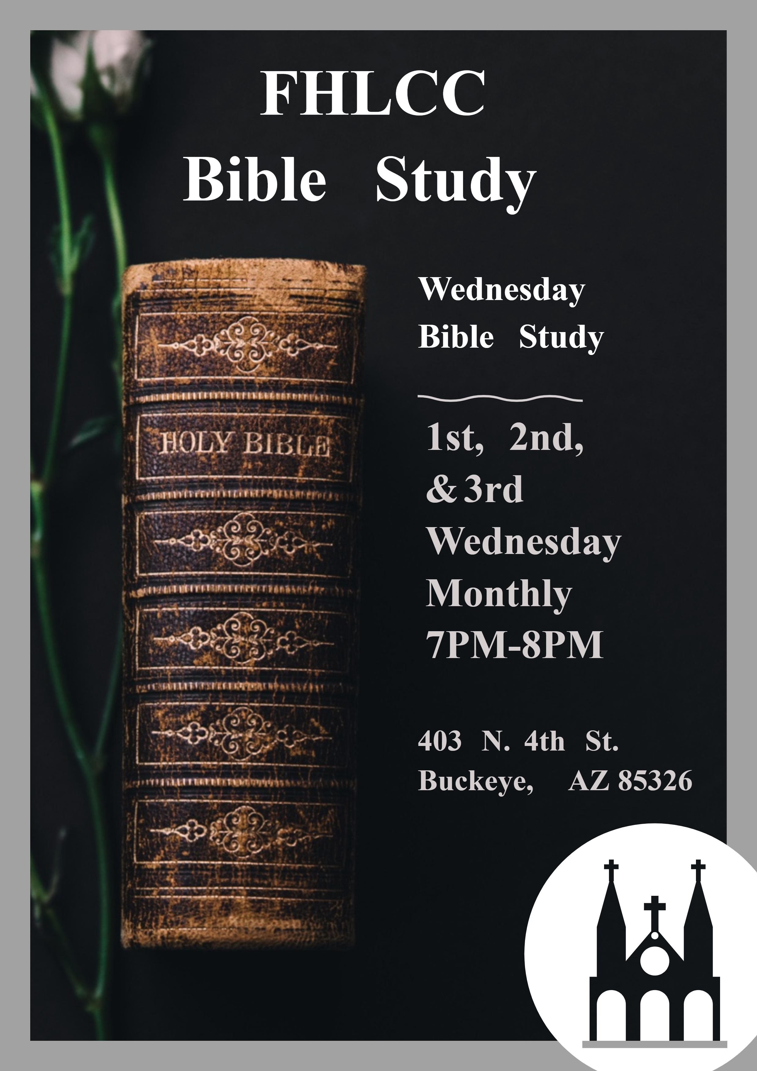 Wed Bible Study