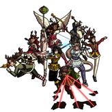 Reindeer Magical Girls