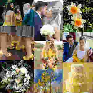 Yellow Wedding Moodboard