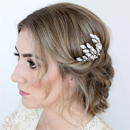 Small Crystal Wedding Hair Comb
